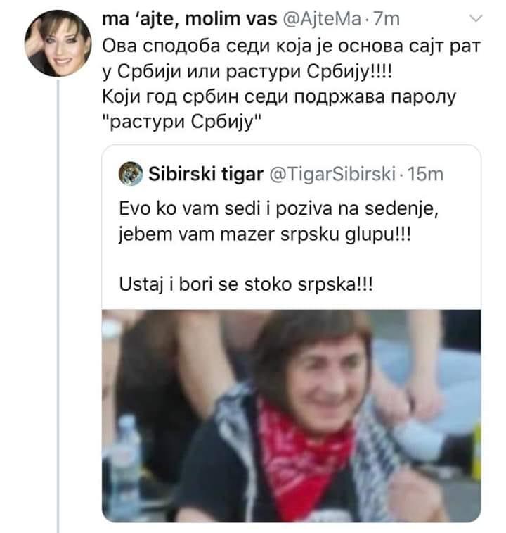 За вечерас сазван највећи протест до сад: СРБИЈА НЕ СЕДИ!